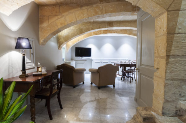 Luxurious Boutique Hotel Valletta Malta Duplex Apartment